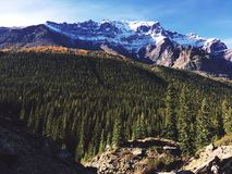 Mountains and Trees Image during Daytime Royalty Free Stock Photography