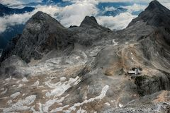 Mountains in Triglav National Park in Slovenia Stock Photography