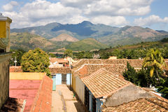 Mountains, Trinidad, Cuba Royalty Free Stock Images