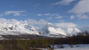 Mountains in Tromsö Stock Photography
