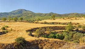 Mountains Troodos Cyprus Island Stock Photography