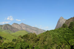 Mountains in tropical forest Stock Image