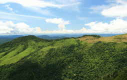 Mountains and tropical rain forest Stock Photography