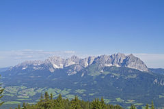 Mountains in Tyrol Stock Photo