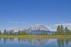 Mountains in Tyrol Royalty Free Stock Photos