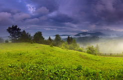 Mountains. Ukraine. Stock Photos