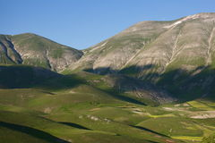 Mountains in umbria Royalty Free Stock Photo