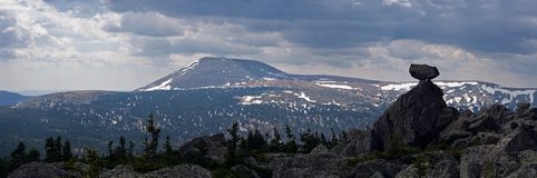 Mountains of Ural. Royalty Free Stock Images