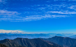 Mountains of Uttarakhand Royalty Free Stock Image