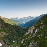 Mountains valley Royalty Free Stock Images