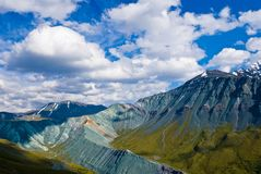 Mountains valley, altai russia Royalty Free Stock Image