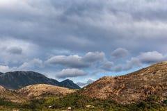 Mountains valley Stock Photo