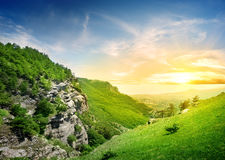 Mountains valley of ghosts Royalty Free Stock Photography