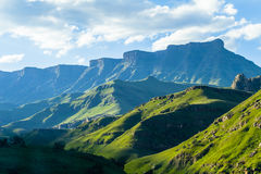 Mountains Valley Landscape Stock Photography