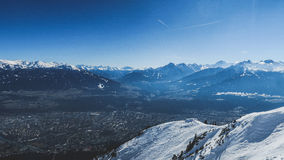 Mountains and valleys Stock Photography