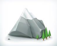 Mountains vector icon Stock Photos