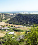 Mountains of Vejer Royalty Free Stock Image