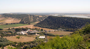 Mountains of Vejer Royalty Free Stock Photos