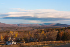 Mountains of Vermont. The photo shows the mountains of Vermont Stock Image