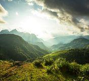 Mountains in Vietnam Royalty Free Stock Image