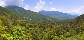 Mountains  in Vietnam Royalty Free Stock Photos