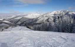 Mountains view Royalty Free Stock Photos