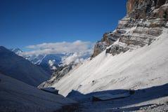Mountains view of Annapurna, Nepal Royalty Free Stock Photo