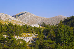 Mountains view at Biokovo, Croatia Stock Photography