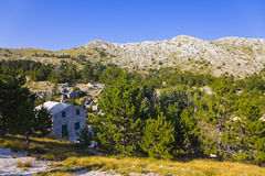 Mountains view at Biokovo, Croatia Royalty Free Stock Photo