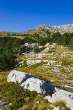 Mountains view at Biokovo, Croatia Royalty Free Stock Photography
