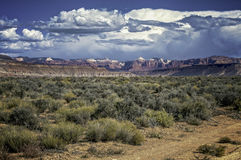 Mountains. View of the mountains Hurricane Utah Stock Images