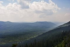 Mountains view royalty free stock photography
