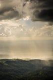 Mountains view. Phuhinrongkla National Park, Phitsanulok, Thailand Royalty Free Stock Photography