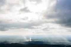 Mountains view. Phuhinrongkla National Park, Phitsanulok, Thailand Stock Photography