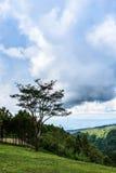 Mountains view. At Phuhinrongkla, Phitsanulok, Thailand Stock Images