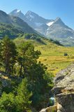 Mountains view Royalty Free Stock Images