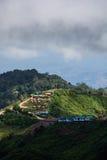 Mountains view. Thabberk Hill at Phetchabun, Thailand Stock Photography