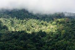 Mountains view. Thabberk Hill at Phetchabun, Thailand Royalty Free Stock Photo