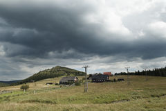 Mountains village Stock Photo