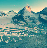 Mountains vintage Royalty Free Stock Images