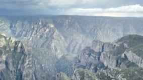 Mountains. Vista del fondo del río Verde y su afluente, el río Guachochi, donde confluyen stock images