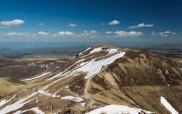 Mountains  volcanoes Stock Photo