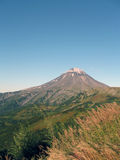 Mountains and volcanoes of Kamchatka Royalty Free Stock Photos