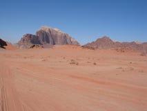 Mountains of wadi rum Royalty Free Stock Photos