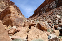 Mountains of Wadi Rum Desert also known as The Valley of the Moon, Jordan Stock Photo