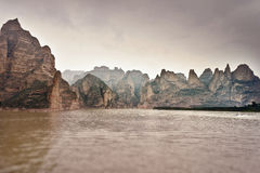 Mountains and water landscape Stock Photo