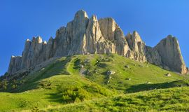 Mountains in west Caucasus Stock Images