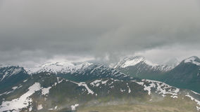 Mountains at West Norway stock footage