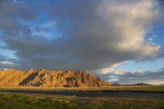 Mountains in Western Mongolia Stock Photos