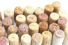 Mountains  of wine corks Stock Photo